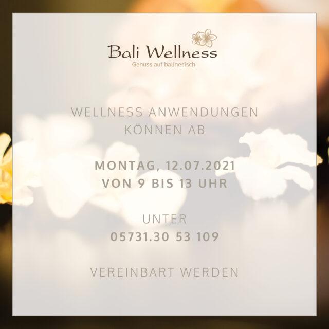 Wellness Termine Ab 12.07